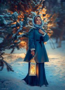 фотограф для фотосессии зимы