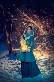 Зимняя сказка для девушки