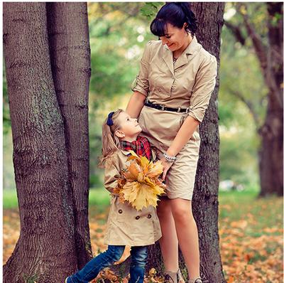 осенняя фотосессия с детьми на природе