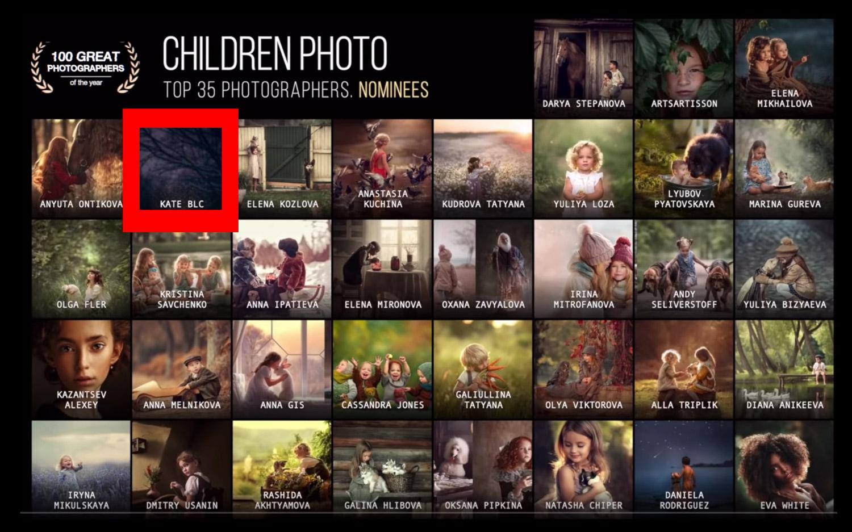 лучший детский фотограф мира