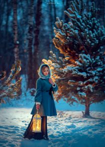 winter-photo-woman-in-a-park